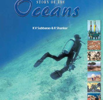 Story of the Oceans Book Cover Page